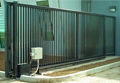 Automatic Industrial Commercial Sliding Gates Kearney